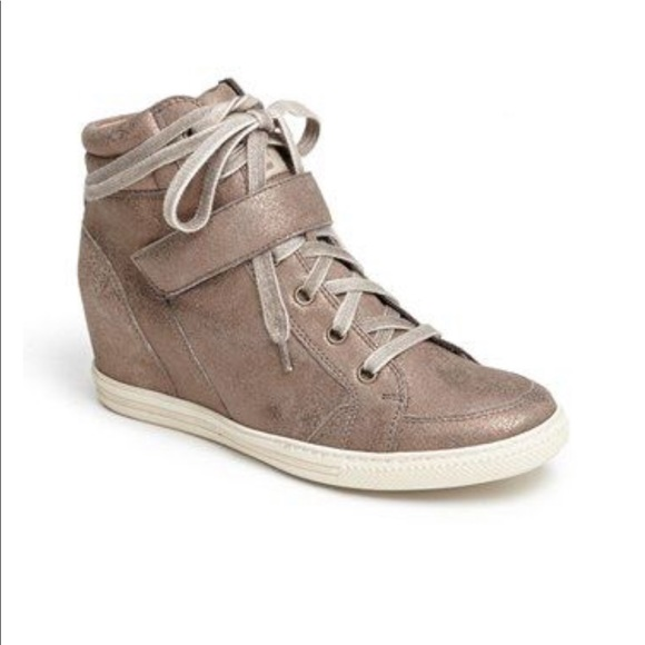 uk cheap sale 100% top quality order online Paul Green Sneakers w/ hidden wedge heel.